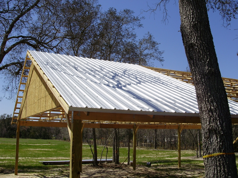 Pole Barn Construction : Pole barn construction basics