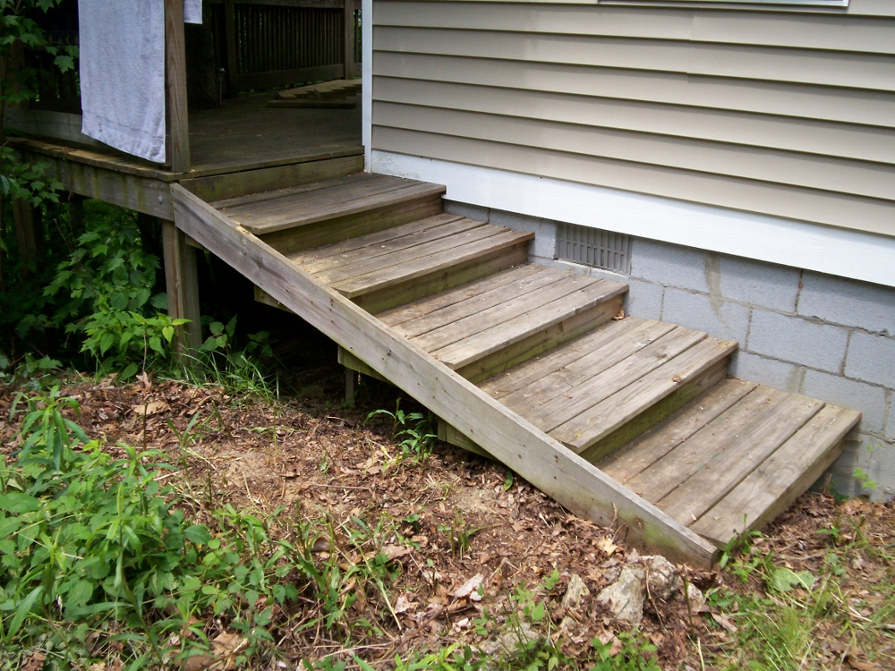 How to build stairs in a few simple steps for Steps to building a house from the ground up