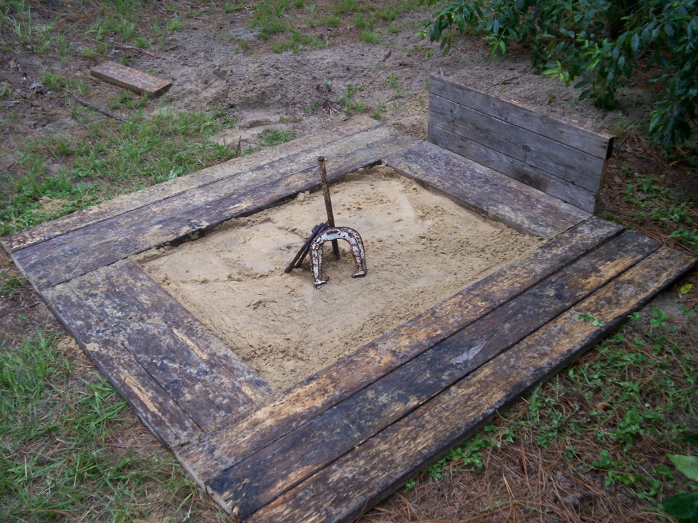 How To Build A Horseshoe Pit
