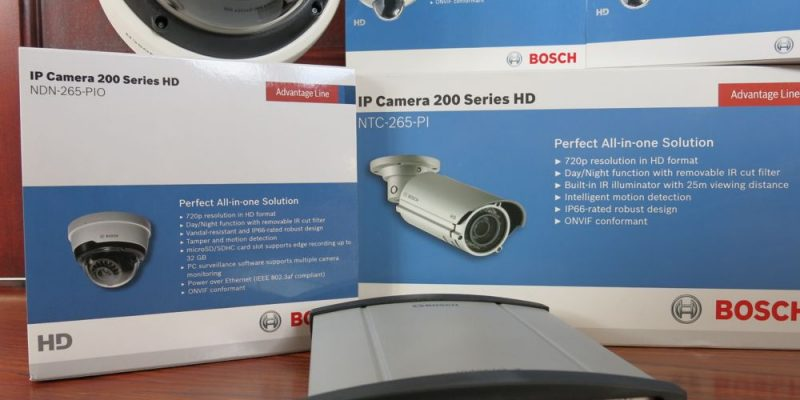 Bosch Security Cameras - Surveillance Video on Your iPad and