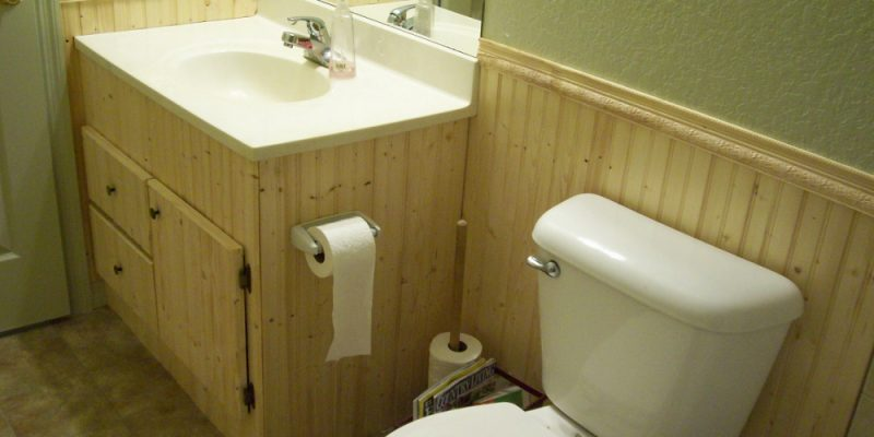 How to Install Bathroom Beadboard