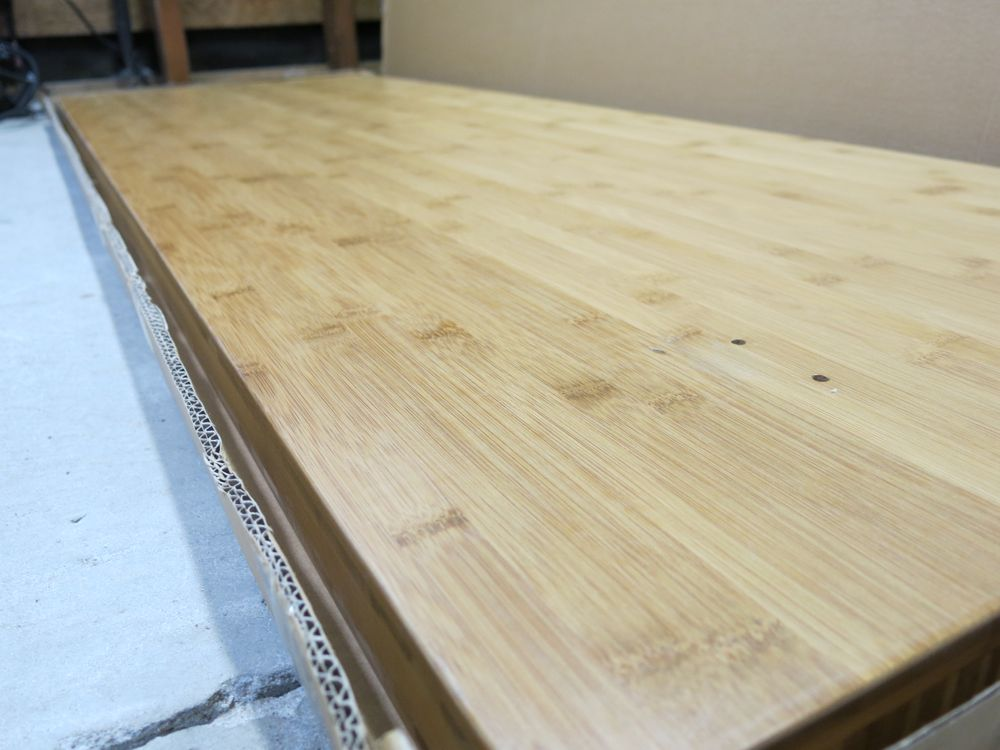 Gladiator Bamboo Workbench Makeover Project