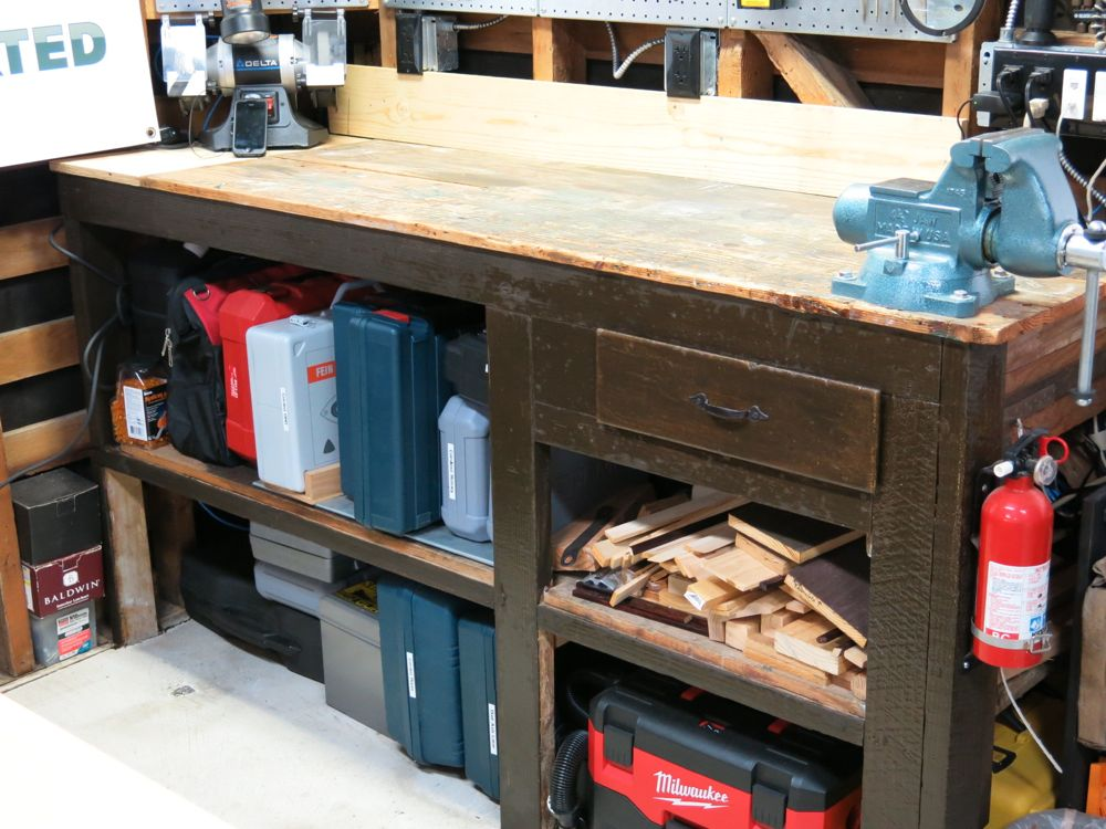 Pleasing Gladiator Bamboo Workbench Makeover Project Uwap Interior Chair Design Uwaporg