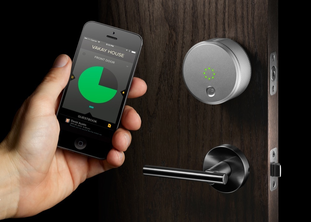 we detail five new keyless entry locks for residential use. Black Bedroom Furniture Sets. Home Design Ideas