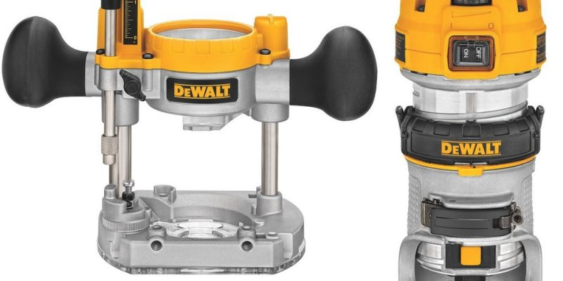 Dewalt Compact Router Review – Taking The Plunge