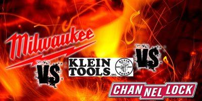 Klein vs Milwaukee vs Channellock – The Ultimate Tool Showdown