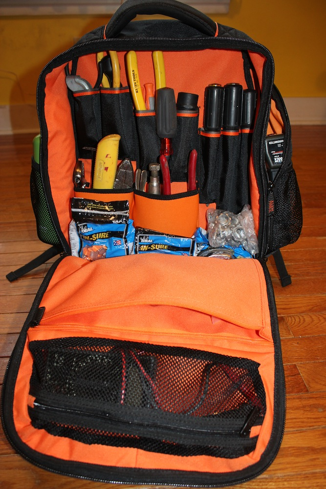 6c8044054 Klein Tradesman Pro Tech Backpack Review-Take Your Tools AND your tech