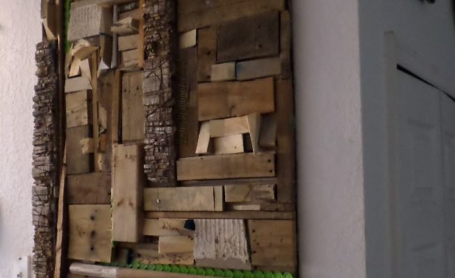 Cute Getting Scrappy u Using Recycled Scrap Materials for Wood Wall Art