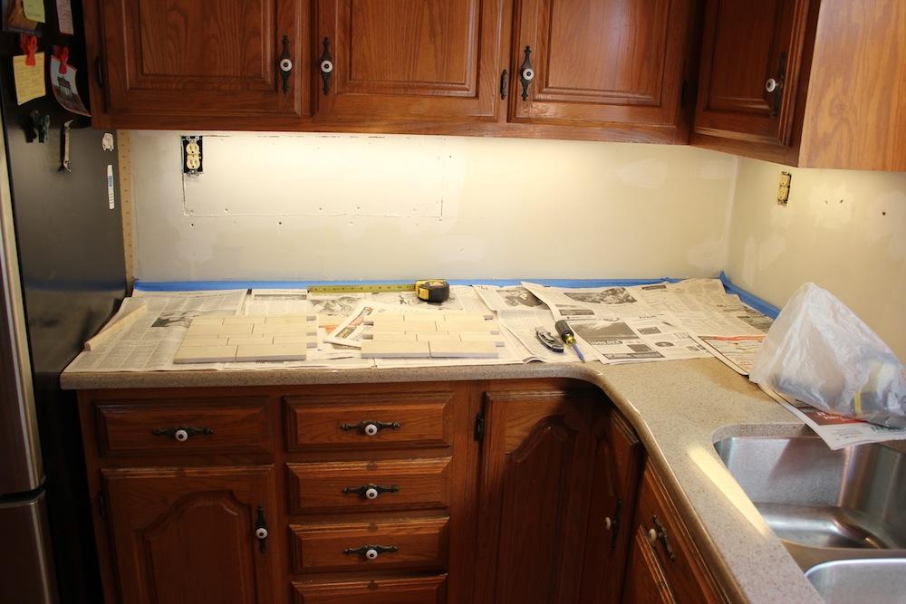 Mastic Over Drywall For Kitchen Tile Backsplash Page 2 How To Tile