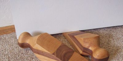 Stop Swinging Doors – Lathe Turned Custom Door Stops