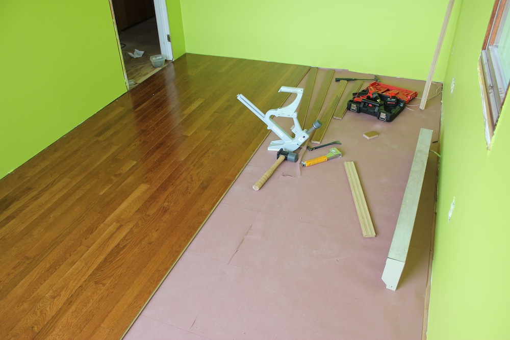 Hardwood flooring nailer 28 hardwood flooring nailer vs for Wood floor nails or staples