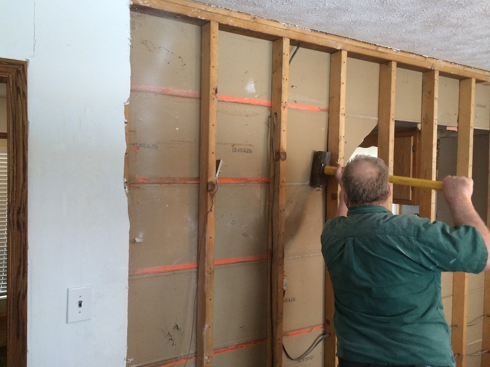 How To Remove A Wall Load Bearing Or Not And Install Header