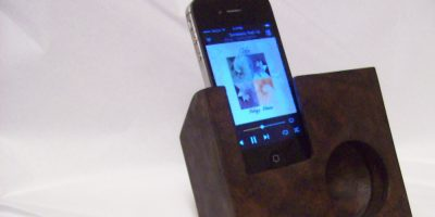 Wooden iPhone Speaker – A Must Have Accessory