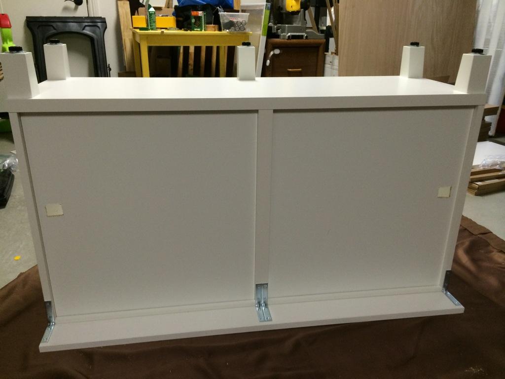 Besta Ikea Hack - Custom Look Built-Ins with Style