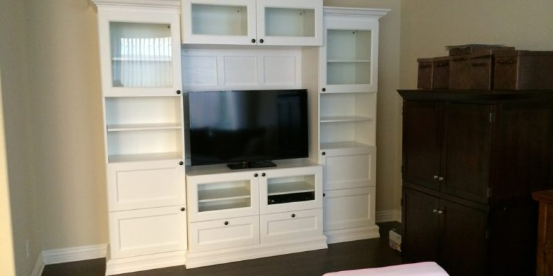 Besta Ikea Hack - Custom Look Built-Ins with Style