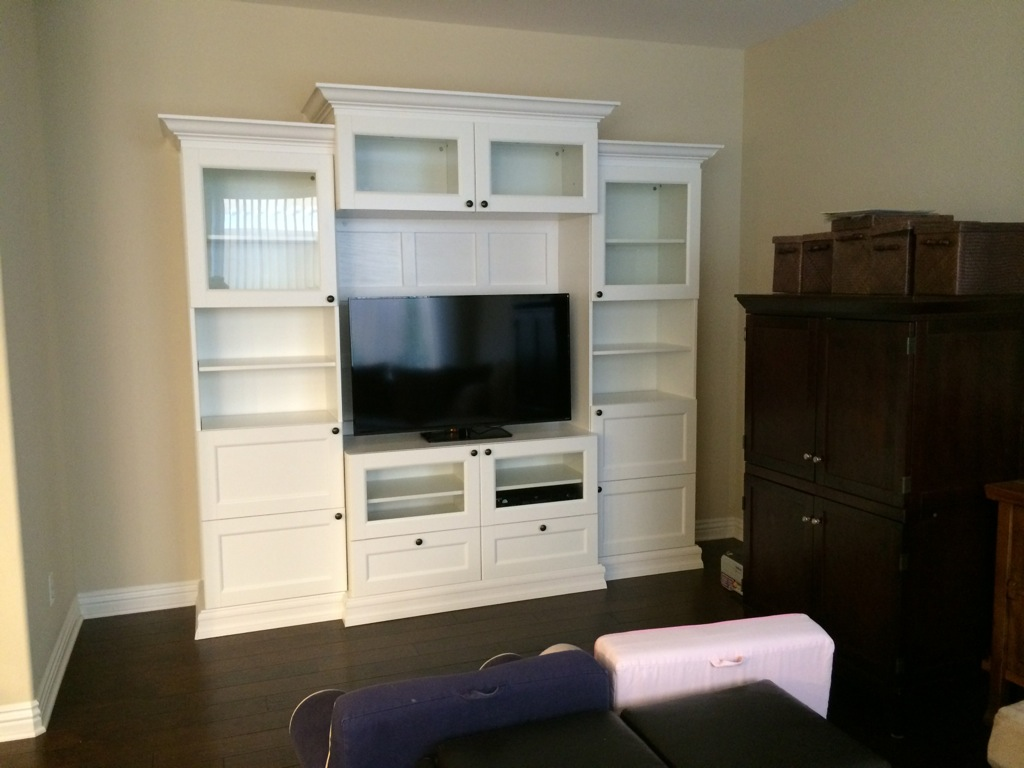Besta Ikea Hack Custom Look Built Ins With Style