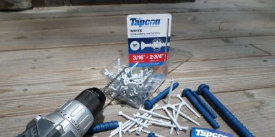 Tapcon – King of the Concrete Anchors
