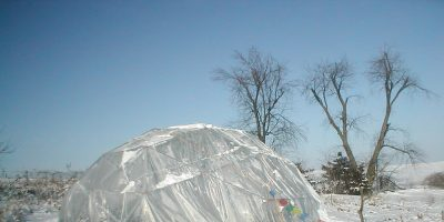 Building a Geodesic Dome Greenhouse for Under $200