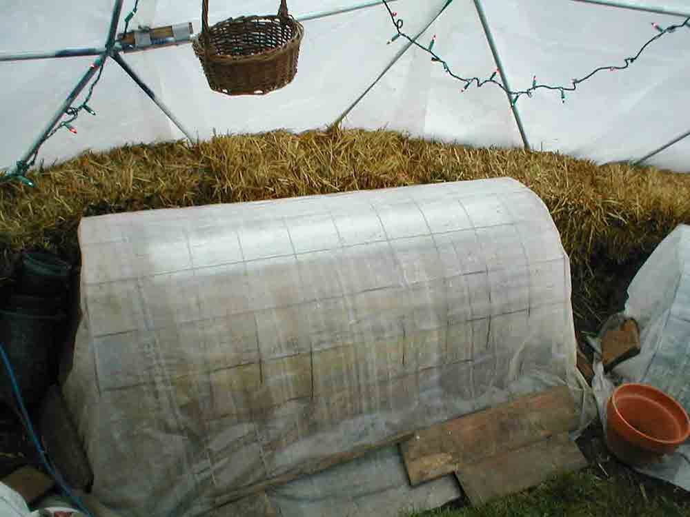 how to build a wooden geodesic dome