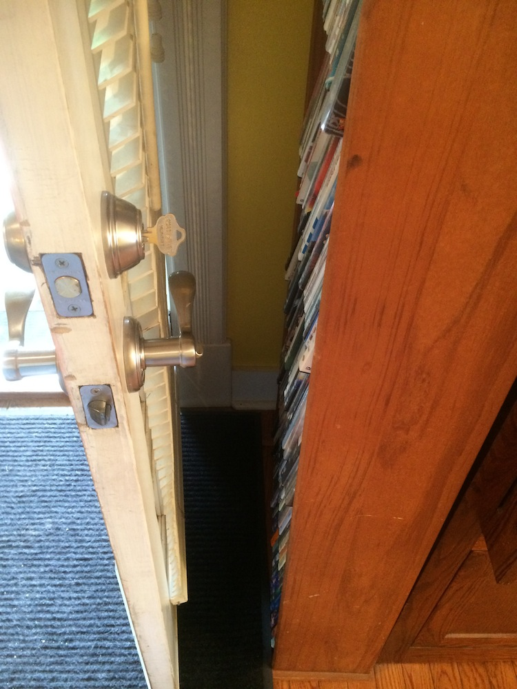 Nuk3y Door Saver 2 Hinge Pin Stop For Residential Doors