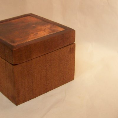 How to Make a Wooden Box with a Cool Copper Pipe Inlay