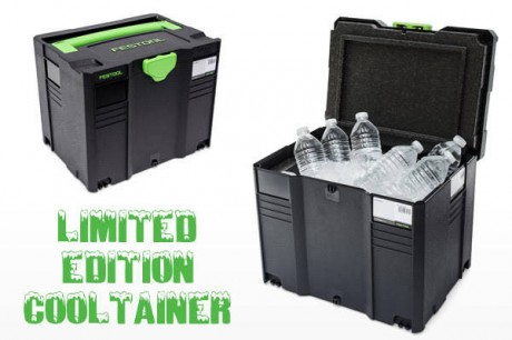Get you Festool Cooltainer now before they're all gone!