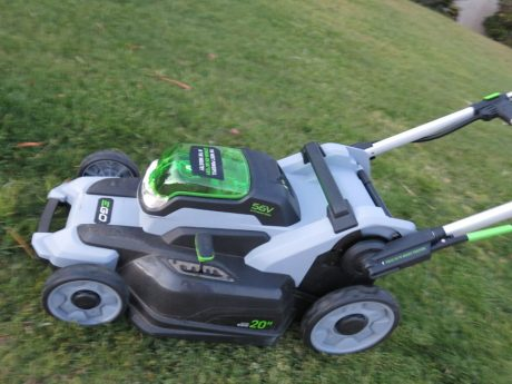 Bringing new meaning to stroking your ego - the Ego Power Plus is an appealing new cordless mower