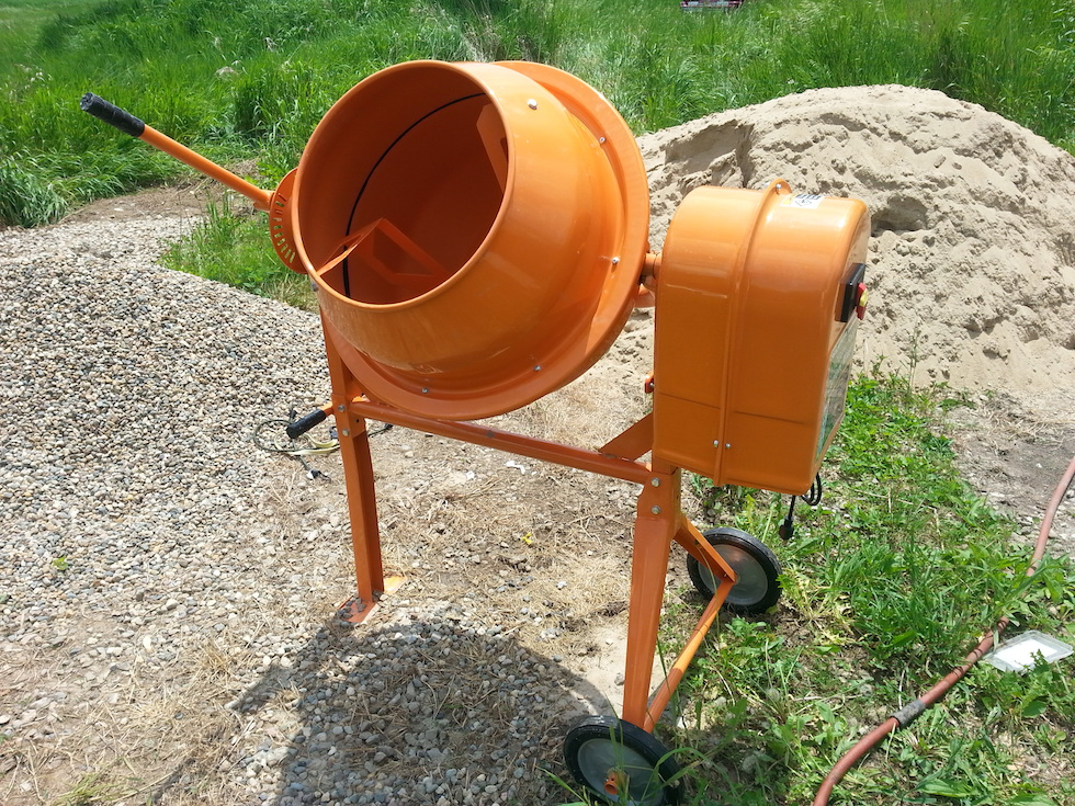Build Your Own Cement Mixer ~ Diy large concrete mixer clublifeglobal