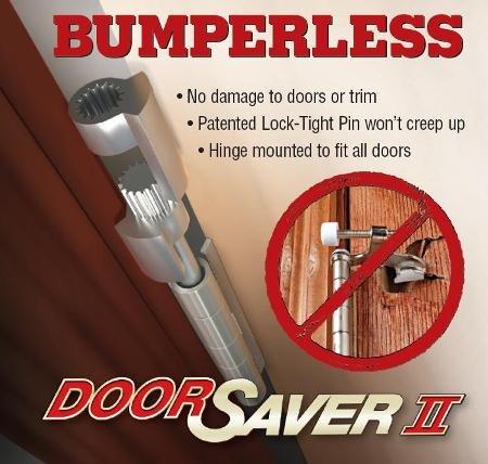 Doorsaver Ii Review Bumperless Doorstop To Protect Your