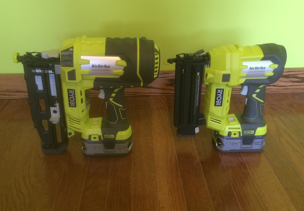 Ryobi P325 Airstrike Nailer Review - 16-Gauge Has Landed