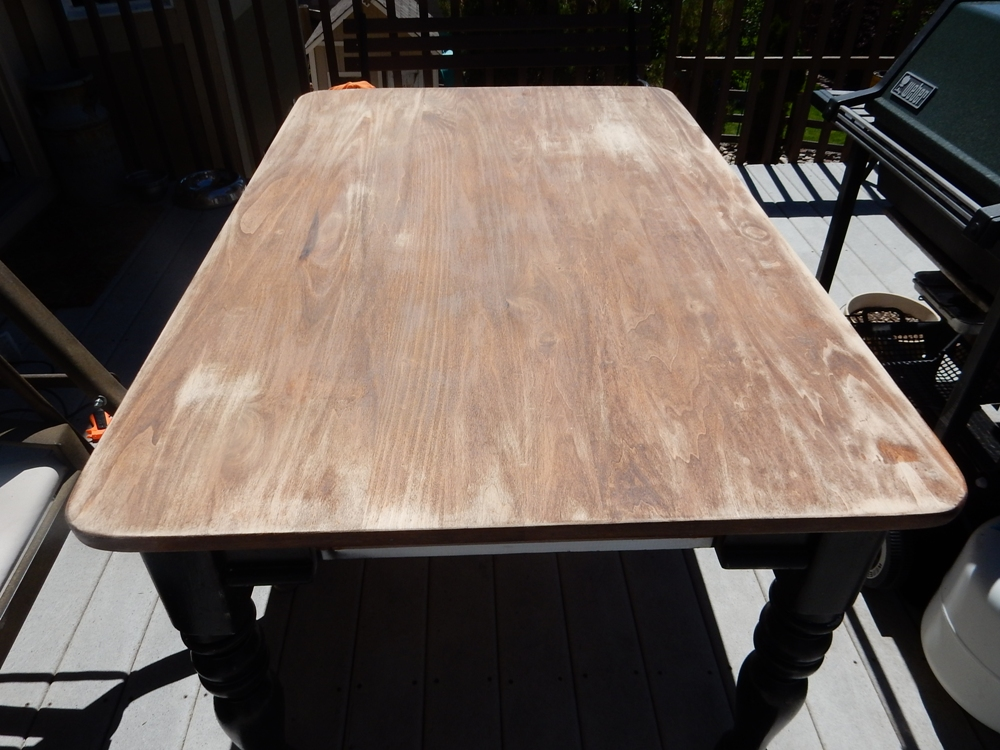 How To Use Chalk Paint Table Top Refinish