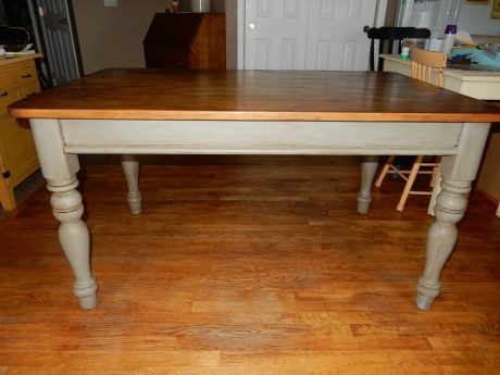 furniture refinish with chalk paint