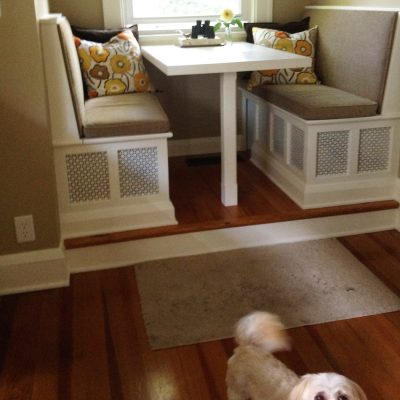 How to Create a Dog-Friendly Breakfast Nook