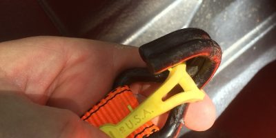 Hook-Tight – Like Tiny Yellow Helping Hands For Your Tie Downs