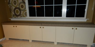 Ikea Hacking – How to Build a Window Seat With Stock IKEA Cabinetry