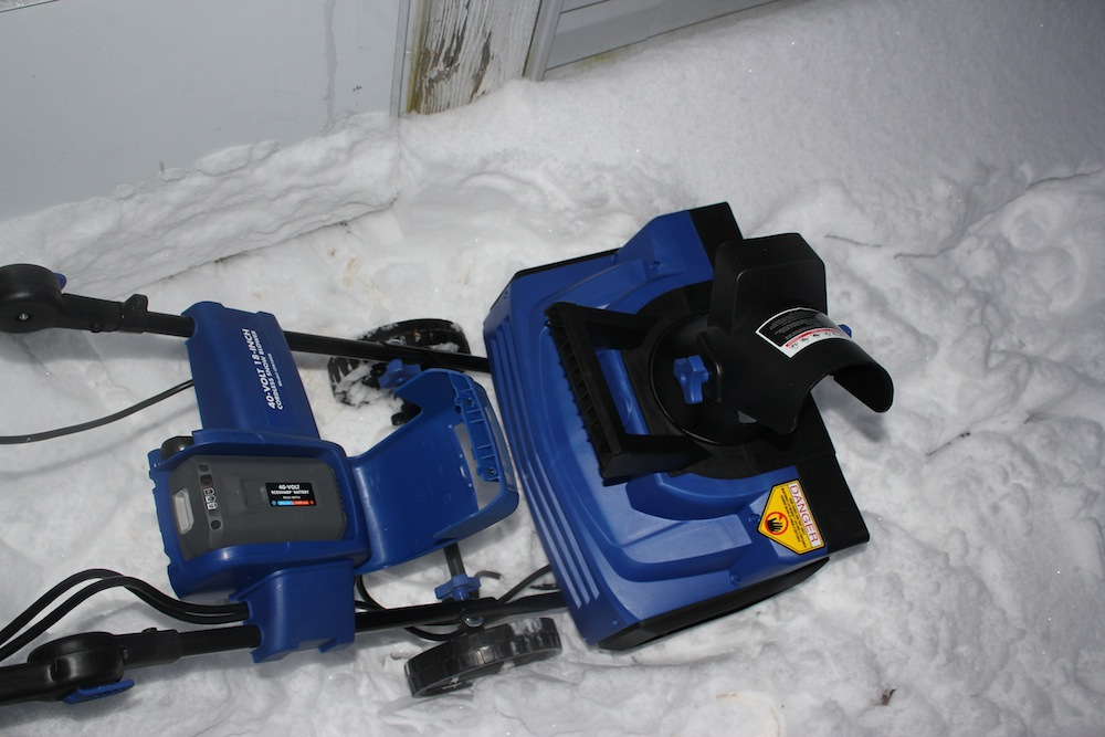 snow joe cordless snow blower manual