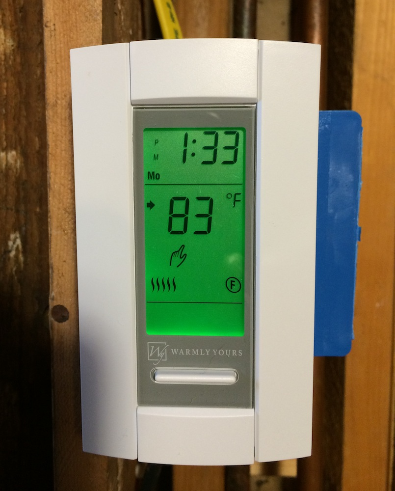 Warmly Yours Radiant Floor Heat We Don T Need No