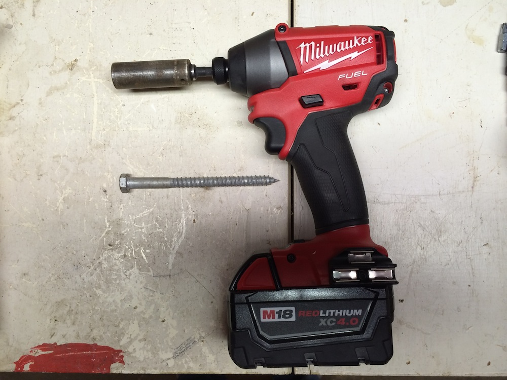 Impact Driver How to Use the Socket-Drive Adapter