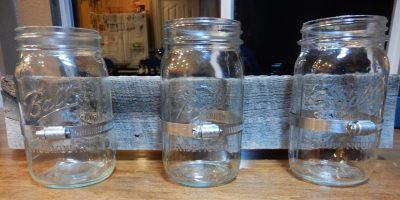 Mason Jar Vertical Garden – Or Votive Candle Display