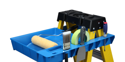 Paint Station And Can Holster – Coming Soon To A Ladder Near You, Maybe!