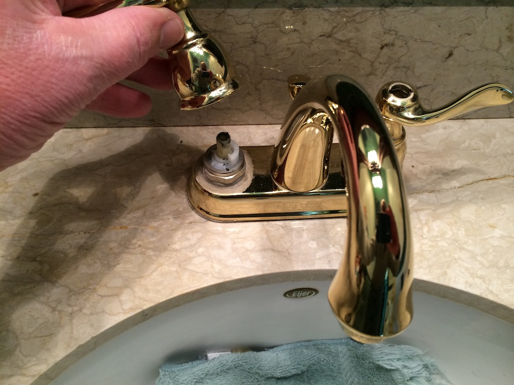 how to fix a leaky kitchen sink faucet how to fix a leaking bathroom faucet quit that drip 7820
