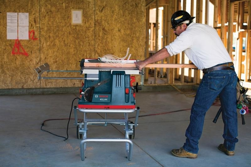 Bosch Reaxx Table Saw Preview Safety Like Sawstop