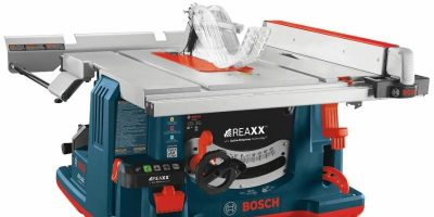Video – Step Aside SawStop – Bosch Unleashes the New REAXX Table Saw