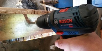 """Bosch DDB181 18v Compact Drill Driver Review – I Call My New Drill """"Hieronymus"""""""