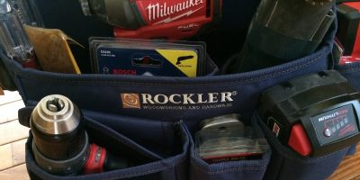 Rockler Joinery Tool Bag Review – Divide And Conquer