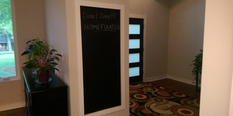 Chalk Up Another Completed Project – DIY Chalk Paint Chalkboard