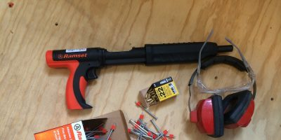 Ramset MasterShot – How To Nail It When It's Built Like A Brick, Um, Outhouse