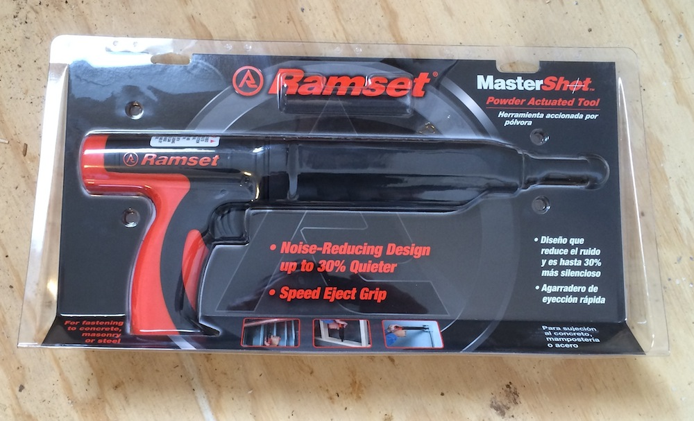 Ramset MasterShot Powder Actuated Tool – How To Nail It When It\'s ...
