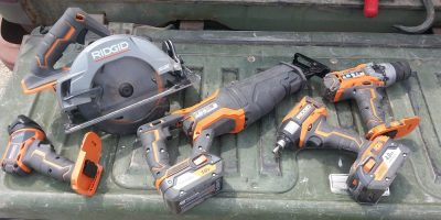 18V Ridgid Gen5X Combo Kit Rocks!
