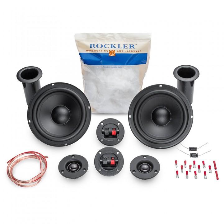 the new rockler diy speaker kit  u2013 banish the plywood